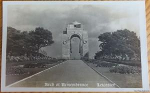 c1930's RP - Arch of Remembrance - Leicetser