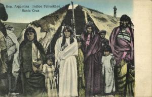 argentina, SANTA CRUZ, Indios Tehuelches Indians (1910s) Z. Fumagalli