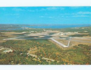Pre-1980 AIRPORT SCENE Traverse City Michigan MI E3570-12