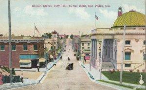 SAN PEDRO , California , 1900-10s ; Beacon Street