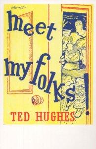 Meet My Folks Ted Hughes 1961 Book Postcard