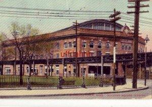 1908 CHARLESTOWN, MA. SULLIVAN SQUARE TERMINAL