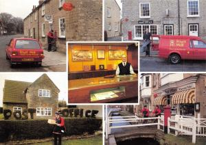 Royal Mail York Postcard, Picturesque Rural Post Offices around York V99