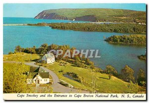 Modern Postcard Cape Smokey and the Entrance to Cape Breton National Park