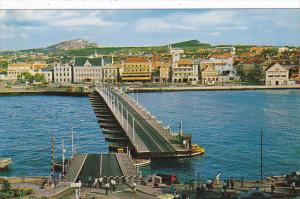 Curacao Willemsted Pontoon Bridge 1968