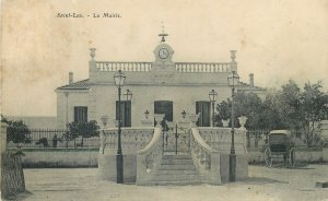 Reunion Postcard Saint-Leu town hall