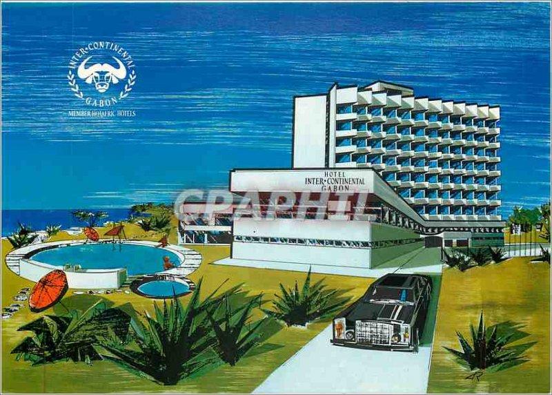 Postcard Modern Gabon Hotel Inter Continental Member of the chain Hotafric