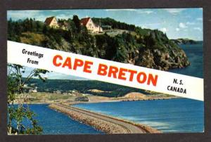 NS Greetings Keltic Lodge Hotel CAPE BRETON NOVA SCOTIA Carte Postale Postcard