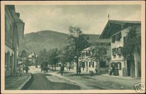 germany, OBERAMMERGAU, Bahnhofstrasse (ca. 1920)