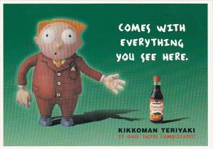 Advertising Kikkoman Teriyaki Marinade and Sauce