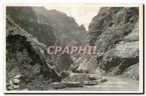 Old postcard Les Beaux Sites of upper Alpes Maritimes Gorges Cians