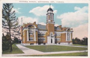 KITCHENER, Ontario, Canada, PU-1933; Victoria School