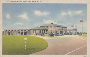 New York Rouses Point U S Customs House At Rouses Point