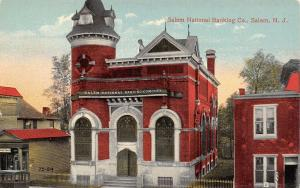Salem New Jersey~Salem National Banking Company~Cigars & Tobacco Store~1910 PC