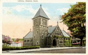 CT - Ansonia. Library