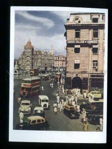 180174 INDIA In business section of Bombay old postcard