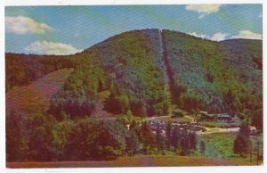 Lift Line & Ski Trails, Mt Sunappe NH
