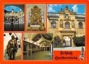 Schloss Herberstein Castle Interior view Statues St Johann