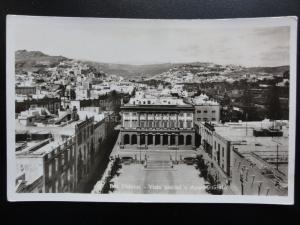 Spain: Las Palmas de Gran Canaria VISTA PARCIAL Y AYUNTAMIENTO - Old RP Postcard