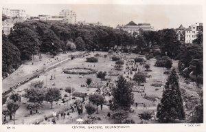 RP; BOURNEMOUTH, Hampshire, England, 1920-1940s; Central Gardens, TUCK