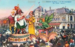 France Carnaval de Nice Le Roi Dagobert 03.03