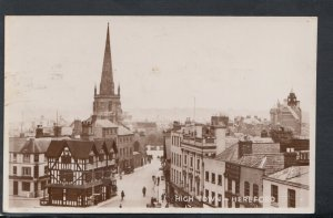 Herefordshire Postcard - High Town, Hereford   T4634