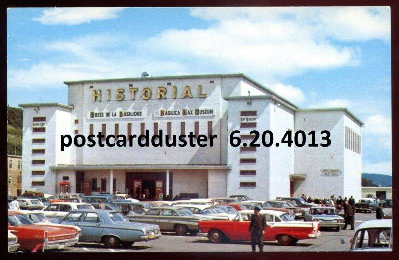 4013 - STE. ANNE DE BEAUPRE Quebec 1960s Classic Cars at Basilica Wax Museum