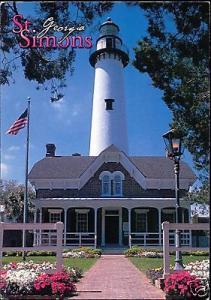 St. Simons Island, Georgia, Coastal Museum, LIGHTHOUSE