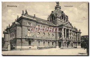 Strassburg Strasbourg Old Postcard Kaiserpalast