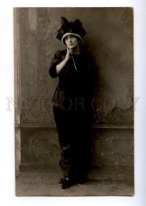 174867 Lina CAVALIERI Italian OPERA Singer Old LORENS PHOTO