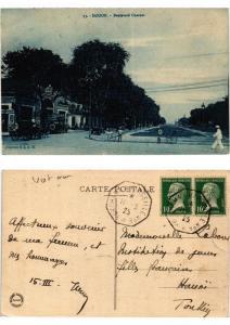 CPA Saigon Boulevard Charner VIETNAM INDOCHINE (615354)