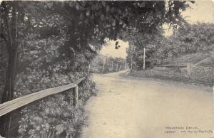 Mt Holly Springs (Park) Pennsylvania~Mountain Drive~Cumberland County~1908 Pc