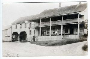 Londonderry VT Hotel and Stables1906 RPPC Real Photo Postcard