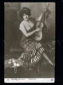 134622 Habanera SPANISH DANCER by LAVRUT Vintage SALON 1912 PC
