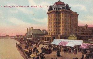 ATLANTIC CITY , New Jersey , 1912 ; Morning on the Boardwalk