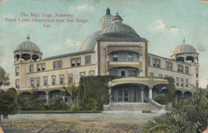 SAN DIEGO, California, 1909; Raja Yoga Academy, Point Loma Homestead