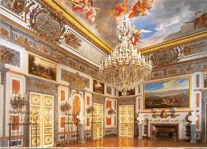 Schloss Kings-Castle Herrenchiemsee Hartschiersaal Hartschier Hall