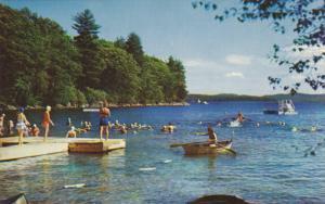 Lake, Boats, BRIDGEPORT, New York, 40-60's