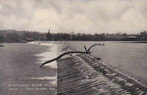 Pennsylvania Norristown Schuylkill River Falls