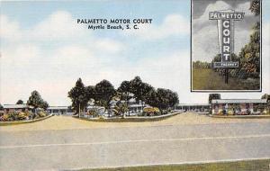 6659 SC  Myrtle Beach  Palmetto Motor Court