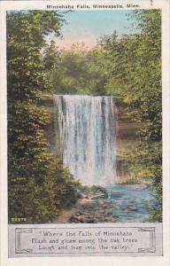 Minnesota Minneapolis Minnehaha Falls 1934