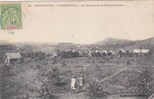 Madagascar Fianarantsoa Les Dependances de l'Hopital Militaire