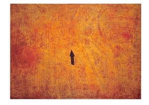 Paul Klee Pfeil im Garten Postcard