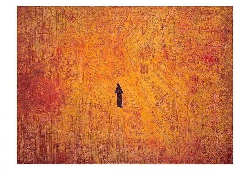 Paul Klee Pfeil Im Garten Postcard Hippostcard
