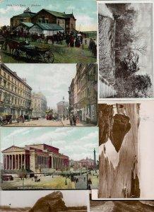 UK Liverpool, Blackpool and more Postcard Lot of 20 RPPC & Printed 01.04