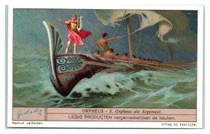 1931 As an Argonaut, Orpheus, Liebig Belgian Trade Card *VT32A