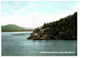 19287  NY West Point   View of Hudson River from Bend