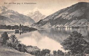Kitzsteinhorn Austria Zell am See Scenic View Antique Postcard J80688