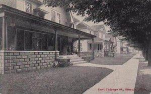 Michigan Sturgis East Chicago Street 1910