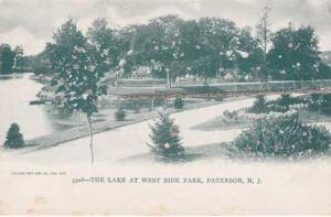 The Lake at West Side Park - Paterson, New Jersey NJ - UDB